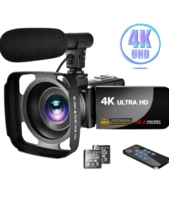 IMAGE OF LINNSE camcorder 4K video camera