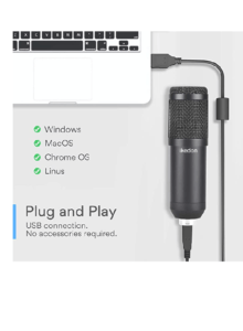 Ikedon condenser microphone-Top 2 Cheap Microphones For Podcast Streaming YouTube Or voiceover