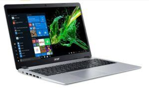 Acer Aspire 5 slim laptop, with 15.6 inches full HD