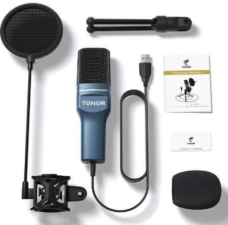 Tonor TC-777 Condenser USB Microphone Review