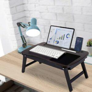 Birdrock home multitasking laptop bed tray