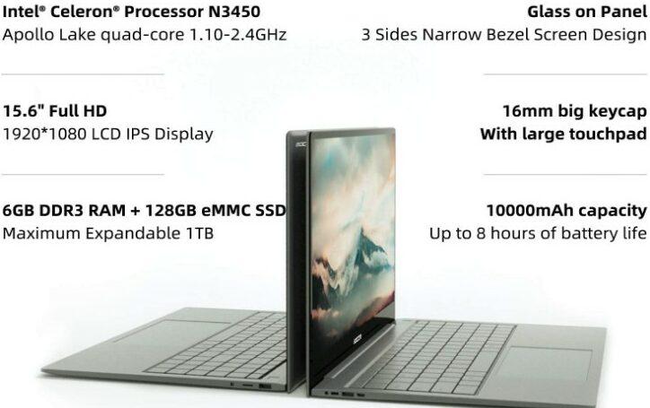 Bocconi T6 Pro Notebook